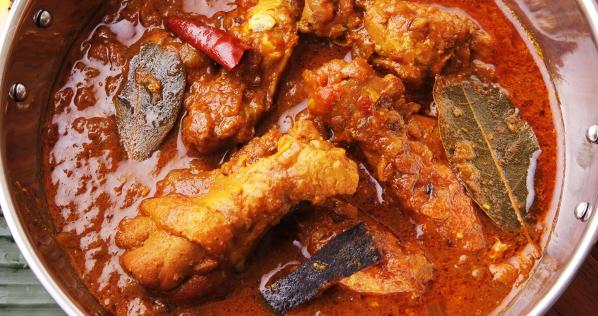 北インド風ワイルドチキンカレーのレシピ