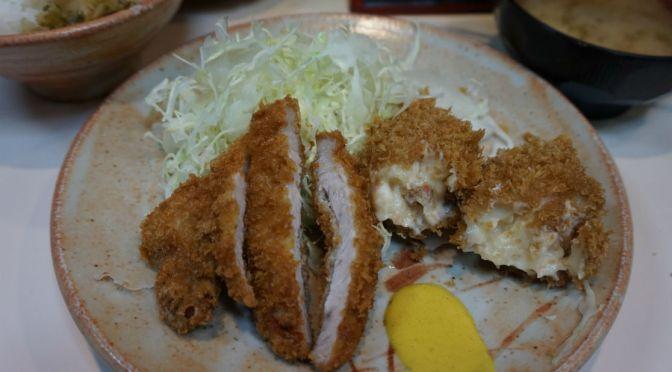 渋谷「とりかつ」コスパのいい揚げ物専門の定食屋