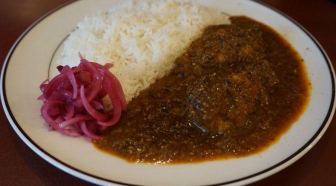 高円寺「豆くじら」爽やかな辛味、美味しいインドカレー