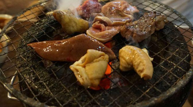 熊谷「水よし」抜群に旨いホルモン焼きにビックリ。とにかくどれも新鮮で、また独特なタレに驚かされた。熊谷の夜は楽しい、ここの住人になりたいと思った。