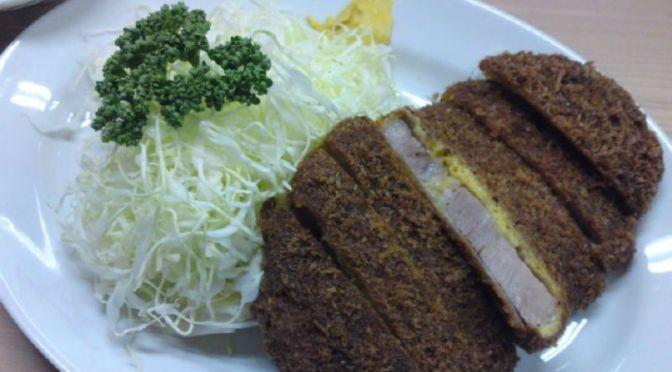 大井町「丸八とんかつ本店」褐色の美味しいトンカツ