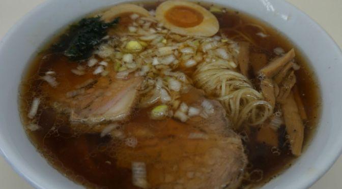 分倍河原「ふくみみ」極細麺の潔い醤油味の中華そば、ジンワリ旨し!