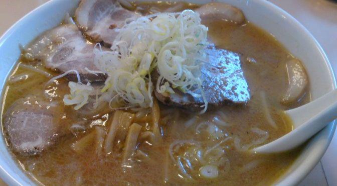 上板橋「宮本太郎」札幌「福来軒」をホウフツとさせる美味しい味噌ラーメン。