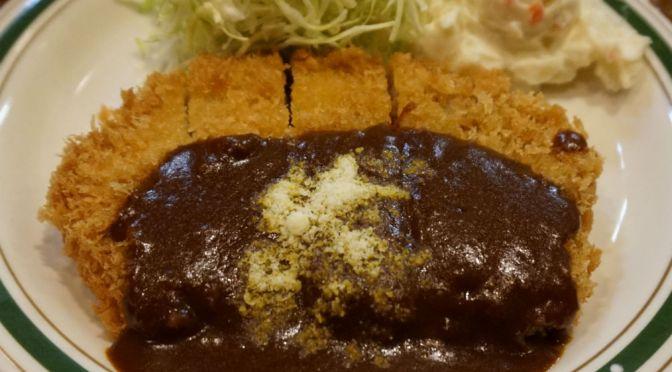 四谷「かつれつ四谷たけだ」フライものが主流の行列の絶えない洋食屋。