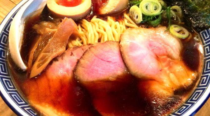 荏原中延「井田商店」塩辛そうな見た目だけど、柔らかな旨味のラーメン、凄旨!