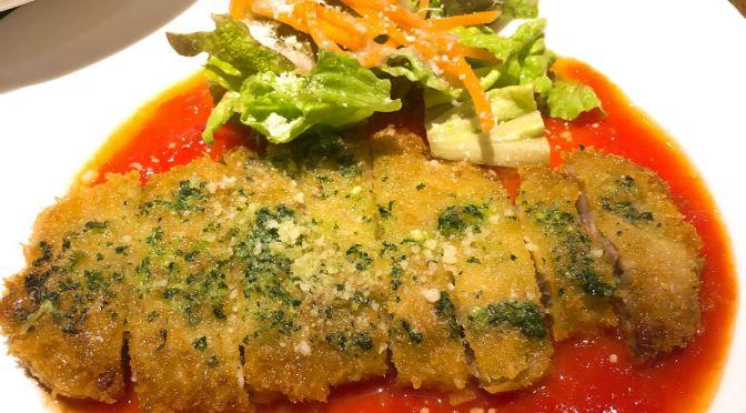 上板橋「キッチンロックポット」公園のそばに瀟洒に佇む美味しい洋食屋。