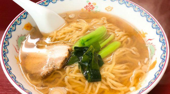 田端「だるまや食堂」和みの食堂。