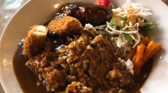 虎ノ門「レストランとらのもん」お得で美味しいスペシャルカレー。