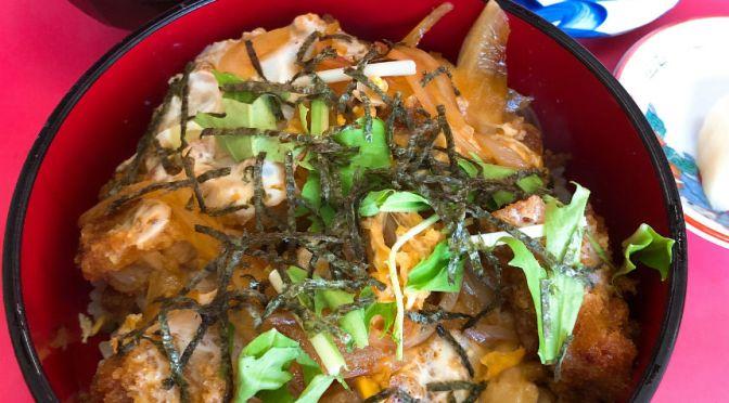 志村三丁目「栄楽」カツ丼もワンタン麺、ここはなにをいただいても相変わらず旨い。