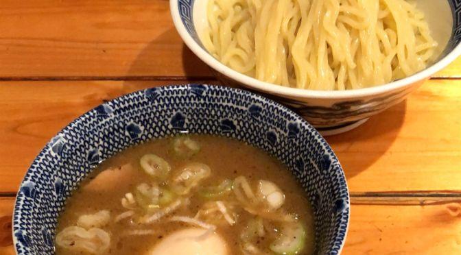 飯田橋「つじ田」美味しい濃厚つけ麺。