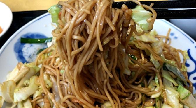 神保町「咸亨酒店」(カンキョウシュテン)麺類とご飯ものの組み合わせランチ楽しく、上海焼きそばも美味。