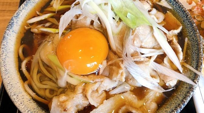 江古田「のじろう」2020年12月15日オープンの立ち食いそば。肉そば旨し!