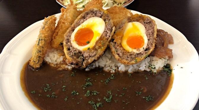 巣鴨「洋食小林」フルーティーなカレーがスコッチエッグにベストマッチ。