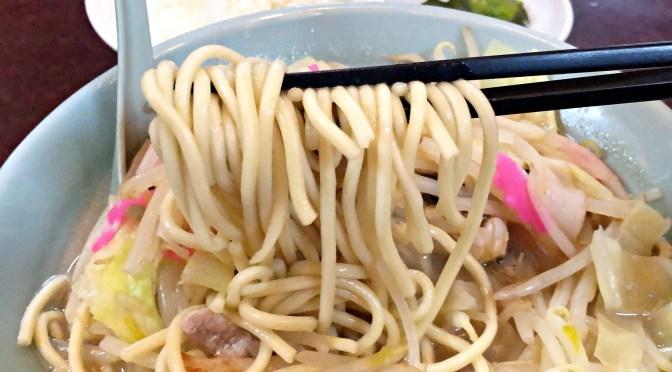 高田馬場「長崎飯店」安心の美味しいチャンポン。