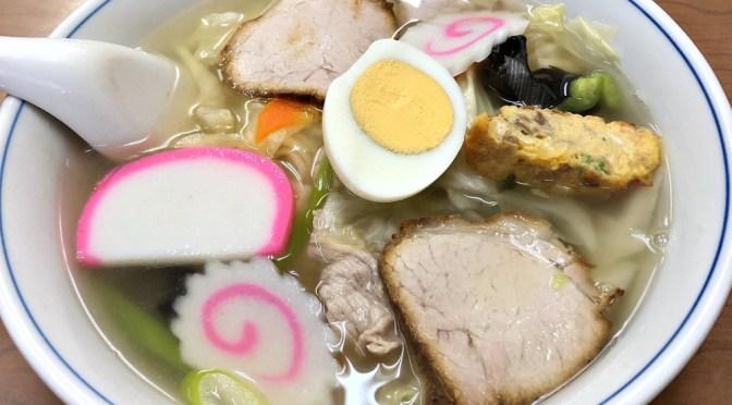 新宿「五十番」美味しいカツカレーや五目そば。