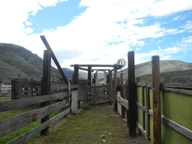 Cow corral