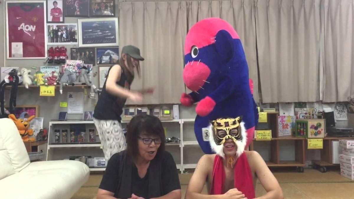 おのくんと仮装パレード 東松島夏まつり