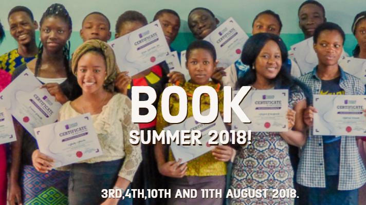 BOOK SUMMER 2018!