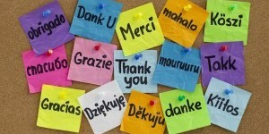 MY THREE MAGIC WORDS:SAYING THANK YOU