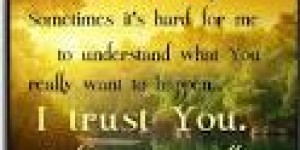 UNDERSTANDING BRINGS YOU INTO THE TIMING OF GOD
