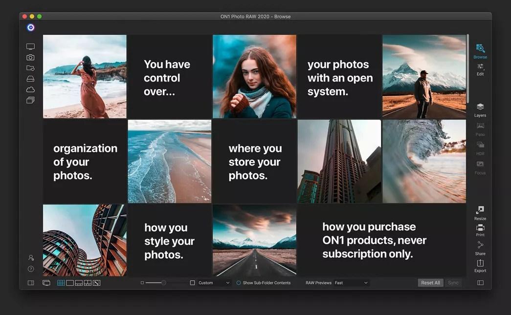 ON1 Photo RAW 2021.5 15.5.1.10737 Mac 破解版 照片编辑工具