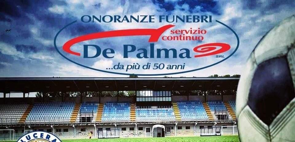 Onoranze funebri De Palma sponsor del Lucera Calcio