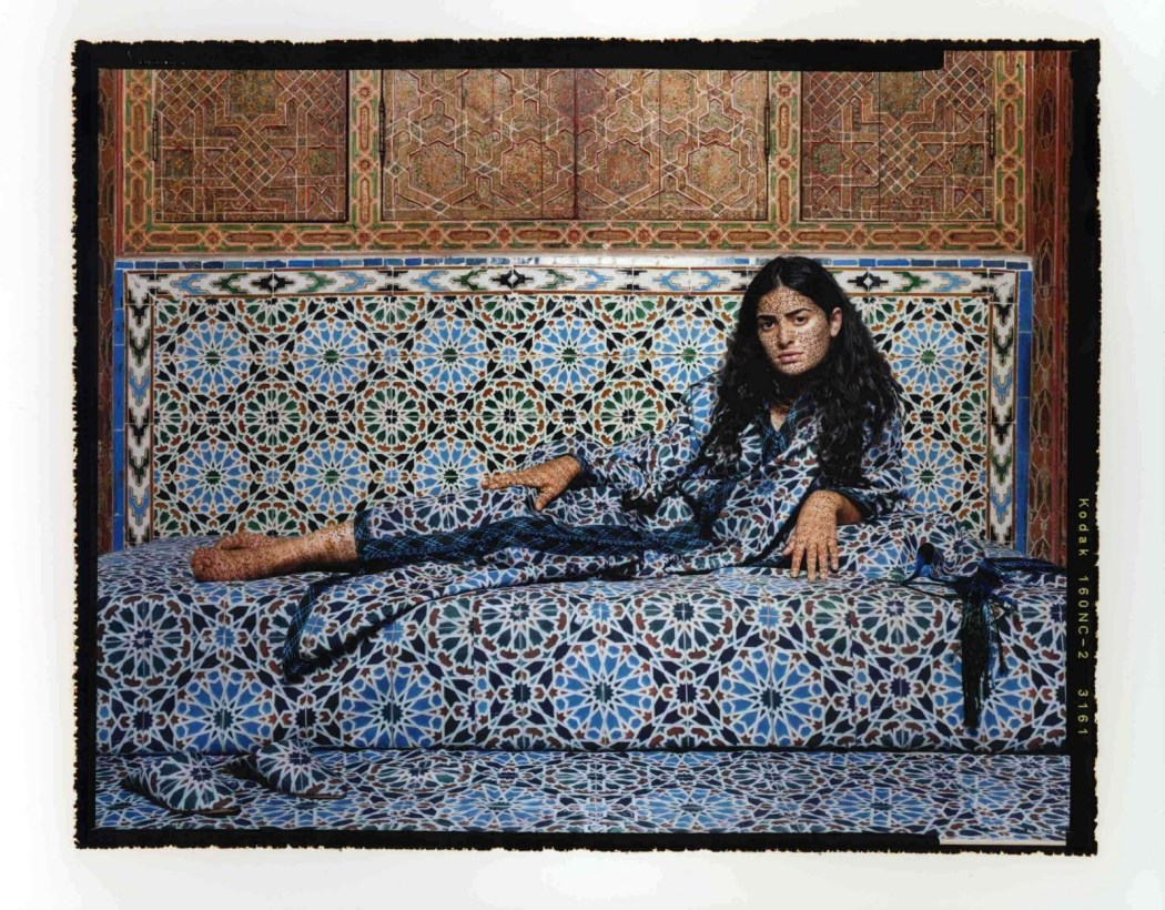 Essaydi, Harem #2, 2009, chromogenic print1 48x30in