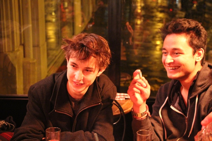 Dylan Zarrella et Rishi Pelham, directeurs du film Tape. Crédit : Tape The Film sur Kickstarter