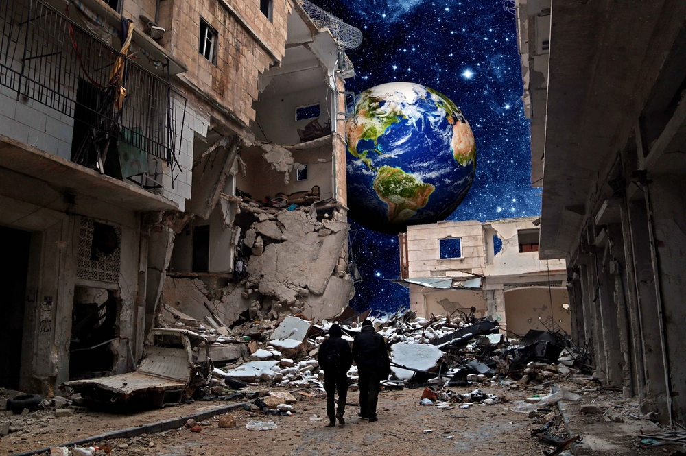Universe. Crédit : Tamam Azzam