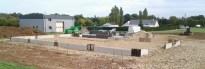 Construction bâtiment industriel