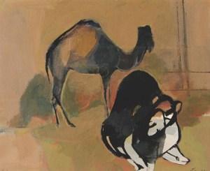 Ruth Schloss - camels