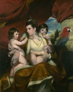 Lady Cockburn and her Three Eldest Sons by Joshua Reynolds