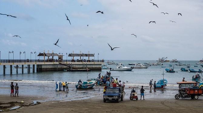 Carnet n°17 - Puerto Lopez : Baleines, quiétude et bonne bouffe