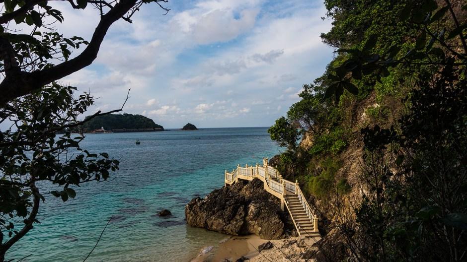 passerelle de l'île de Kapas