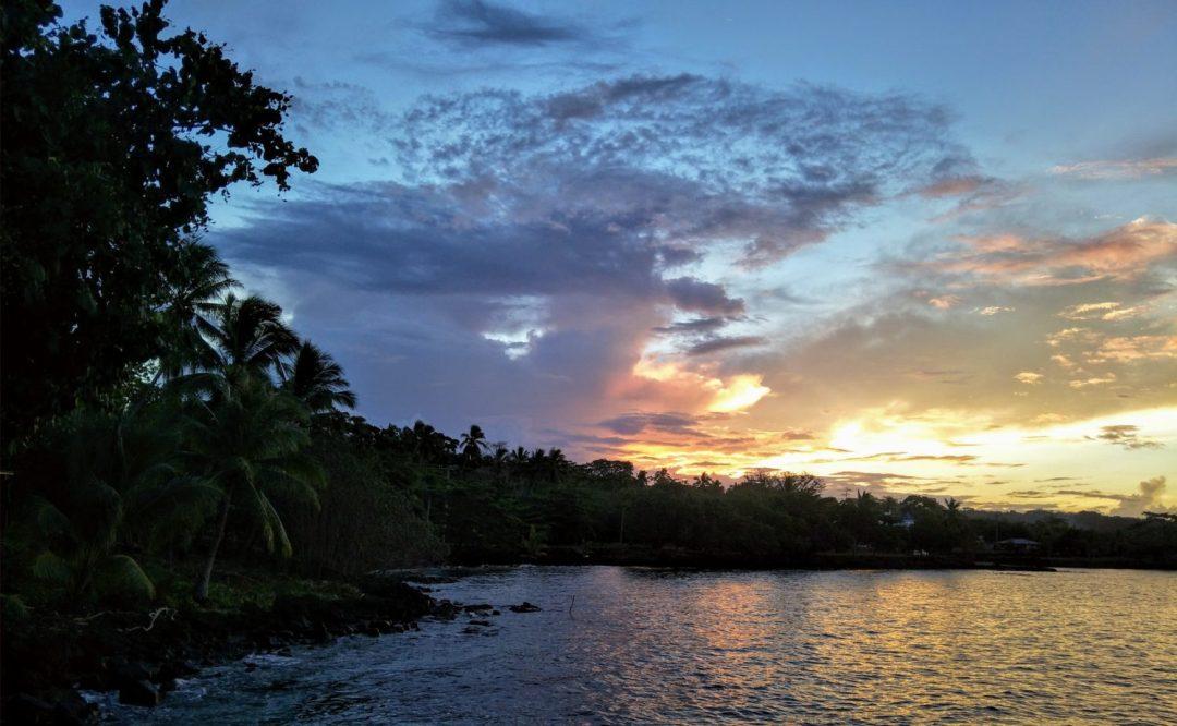 Savai'i Ile de Chatham Samoa