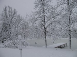 March 9, 2012 snow