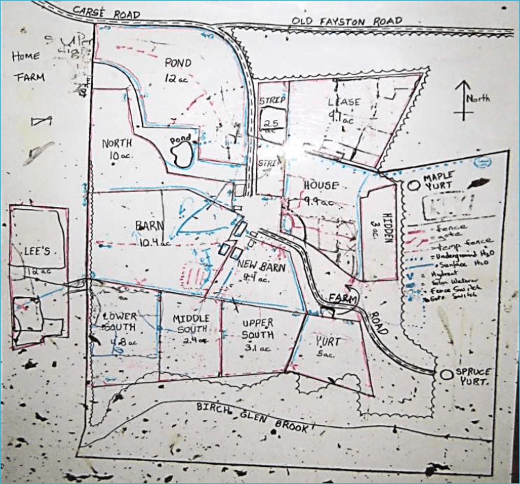 Map for grazing chart 4