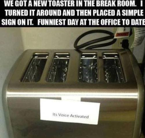 Voice Activated Toaster