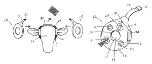 Here's a drawing of the device from Anderson and Hale's patent on it.
