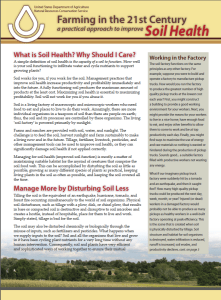 Soil Health Front Page