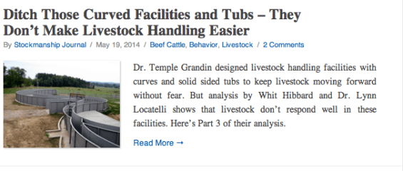 Ditch Those Curved Facilities and Tubs
