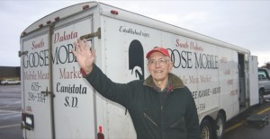 The Neubergers are known for thinking outside the box.  In 1984 when Tom and Beth first fattened 3,500 geese the natural way, they found themselves without a market. They processed the geese and hit the road in a refrigerated bus. The Goosemobile was such a success that they've been traveling South Dakota ever since. Now they offer geese along with natural organic beef, pork, lamb, chicken, duck, flax, down comforters and feather pillows.