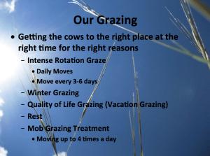 Reiser Grazing System
