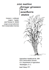 100 native forages grasses in 11 southern states cover