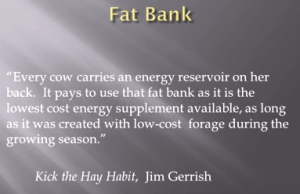 Jim Gerrish Fat Back Quote