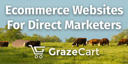 "Need help getting your farm's ecommerce site going? Blaine can help with ""GrazeCart."""