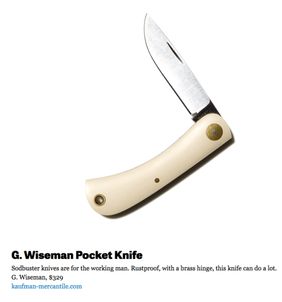 pocket-knife