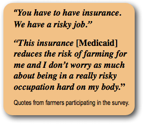 Does Lack of Affordable Health Insurance Threaten Farm and