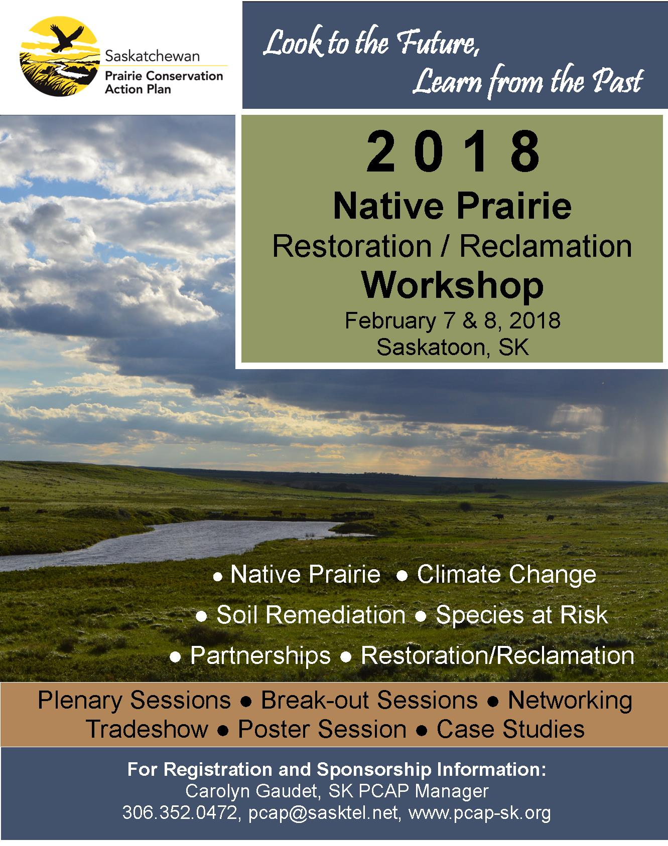 6th Native Prairie Restoration/Reclamation Workshop