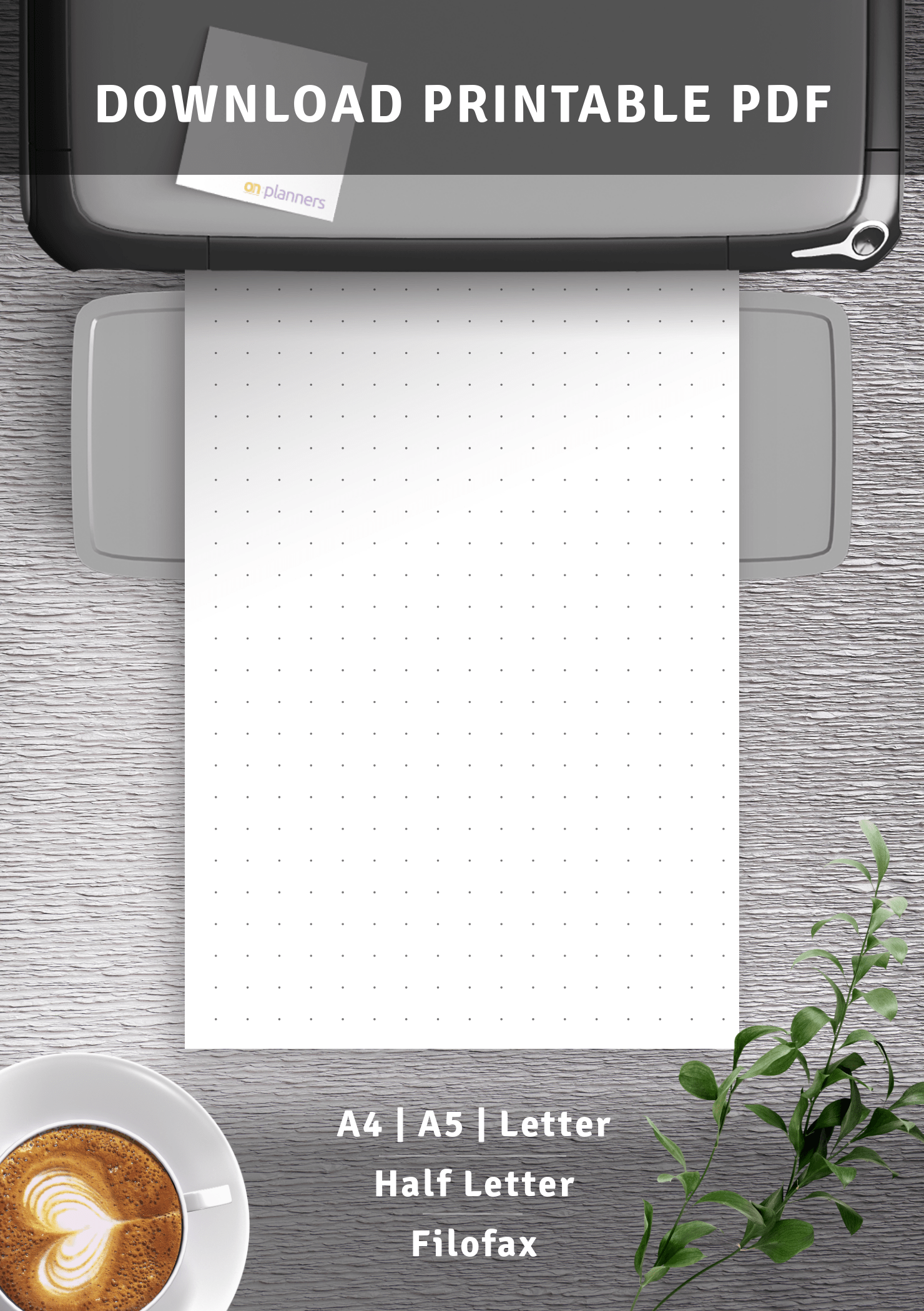 Download Printable Dot Grid Paper With 3 Dots Per Inch